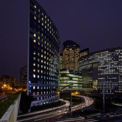 Parijs - La Défense - Rue de la Demi Lune - Boulevard Franck Kupka
