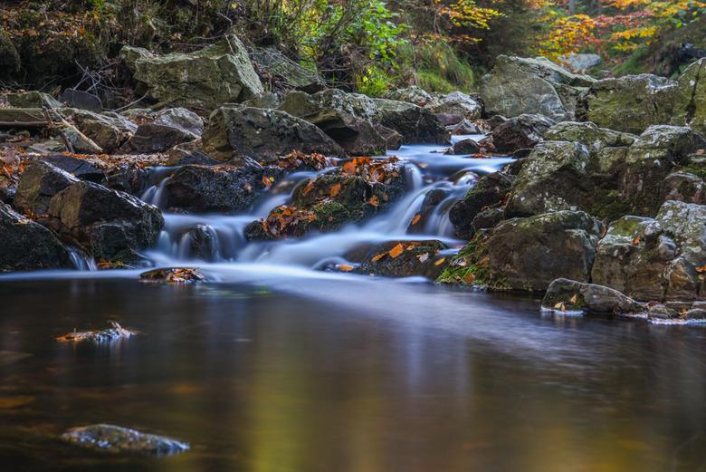Waterval La Hoëgne - De herfst is in het land!