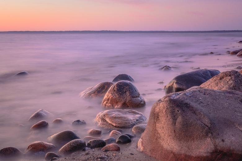 Zonsondergang in Denemarken