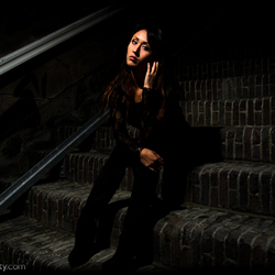 Sitting on the Steps