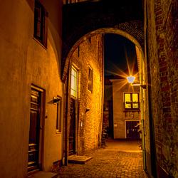Een steegje in Deventer