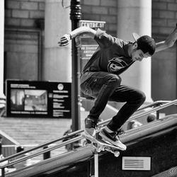 Skater in New York City