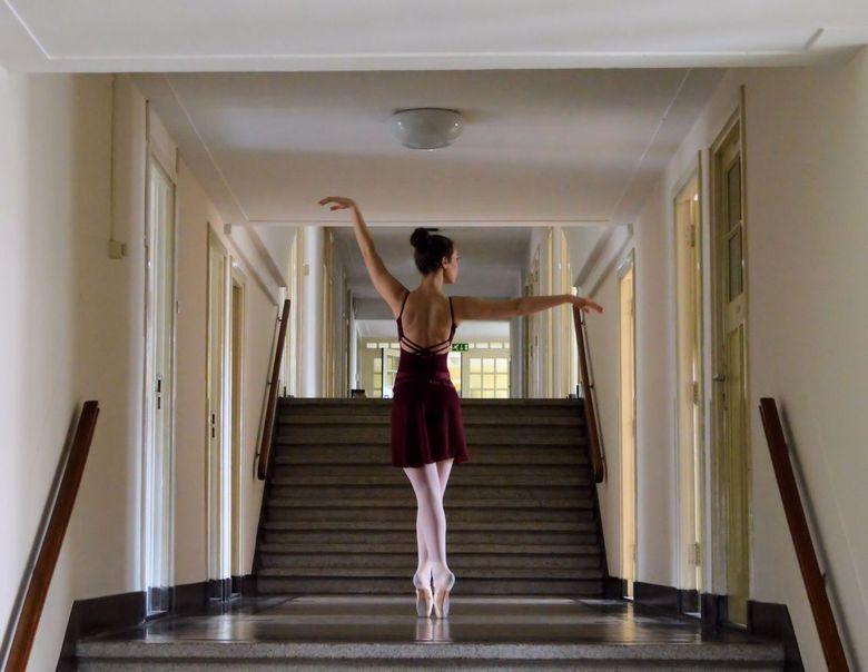 Ballerina - op een top locatie mogen foto's maken met een top model!