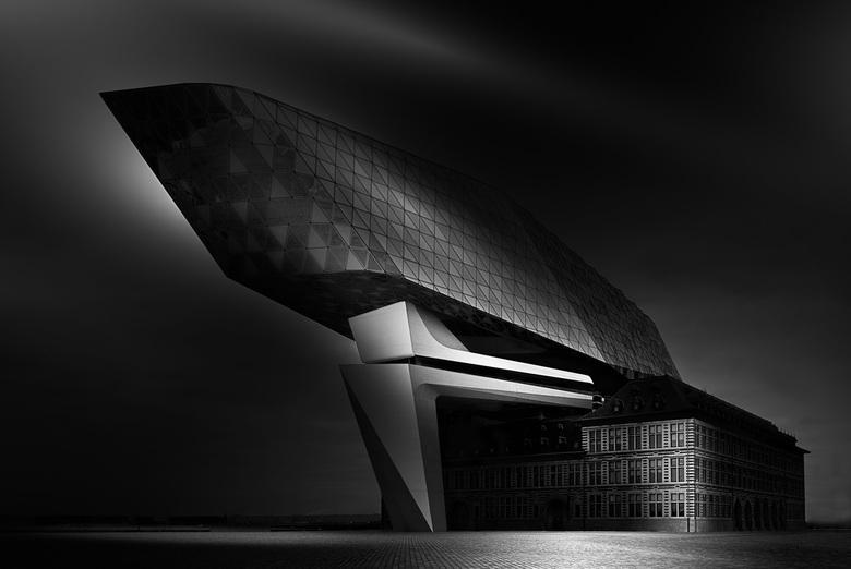 Havenhuis - Het havenhuis, Antwerpen. Blijft een bijzonder gebouw!