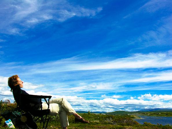 Onderweg in Noorwegen - Rust en ruimte. Wat zijn we misdeeld in ons kikkerlandje...