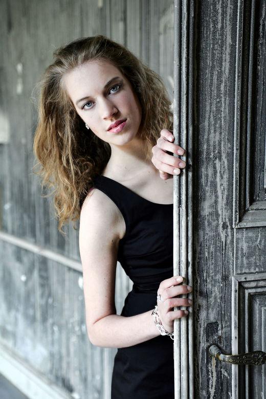 Elisabeth - modelshoot in het kasteel te Ingelmunster