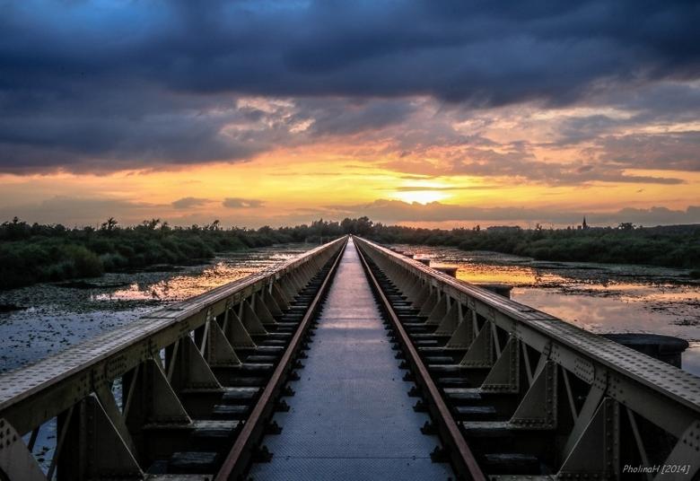 Railway to sundown