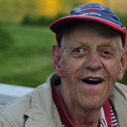 A Happy old man