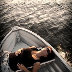 Luieren op het water