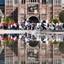 Reflectie bij Rijksmuseum