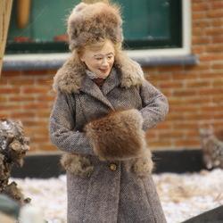 Veendorpje in de winter -6-
