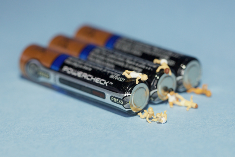 Legbatterij -