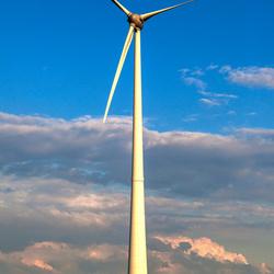 Windmolen in de Eemshaven