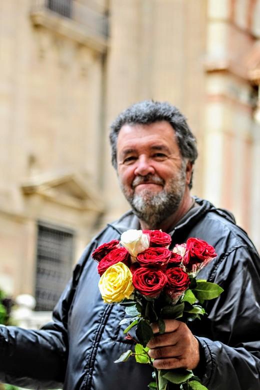 Vendedor Rosas -