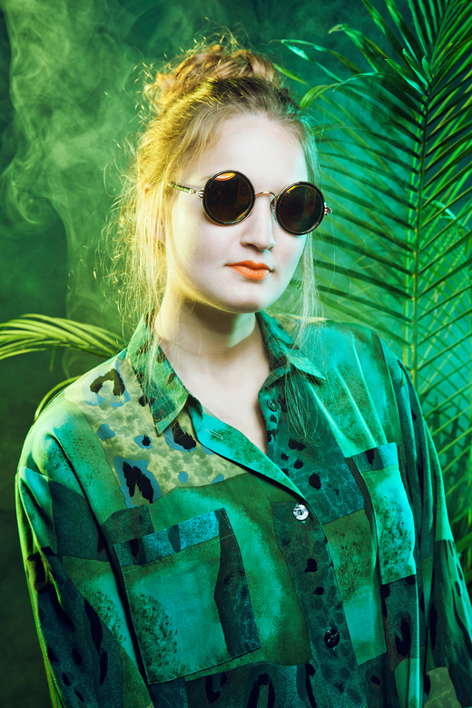 Welcome to the jungle - model: Cecilia <br />