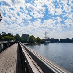Brug naar Skeppsholmen, Stockholm