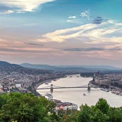 Budapest bij avond