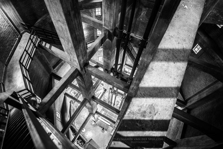 De Axelse Watertoren - Binnen in de Axelse Watertoren
