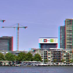 Rotterdam 3D hyper-anaglyph