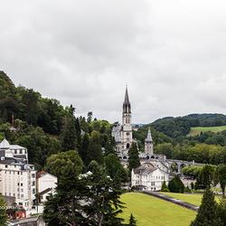 Kerk in Lourdes