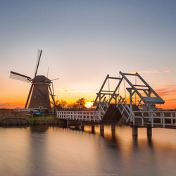 Sunset Kinderdijk