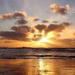 sunset Wijk aan Zee