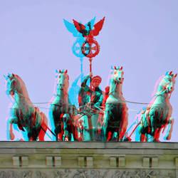 Brandenburger Tor Berlin 3D