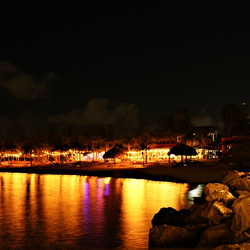 Curacao by night