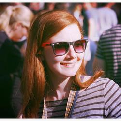 Sunny redhead