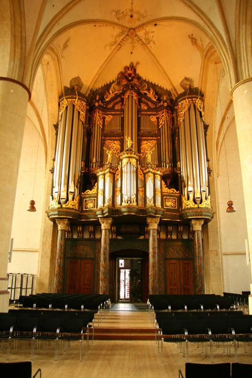 Orgeltje - Het orgel van de Martinitoren in Groningen
