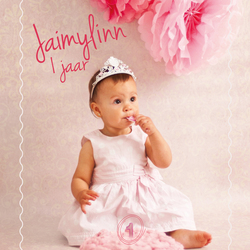 Verjaardagskaart 1 jaar Jaimylinn