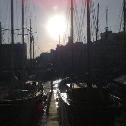 Avond in de Haven