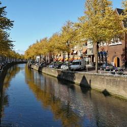 Stadsgracht in Kampen