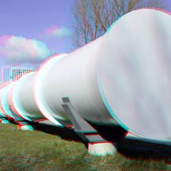 test track Hardt Hyperloop TU Delft 3D