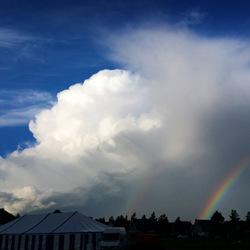 Dreiging en een stukje van de regenboog