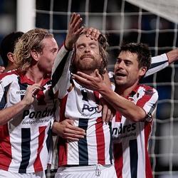 Willem II scoort
