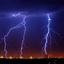 onweer boven corus