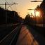 Avondzon station Dalfsen