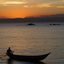 Zonsondergang op Madagaskar
