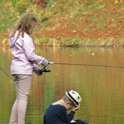Fishing is so boring