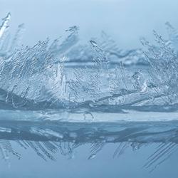 Frozen world.