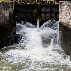 Sluis in Canal du Midi bij Castelnaudary