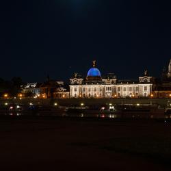 Dresden by night.