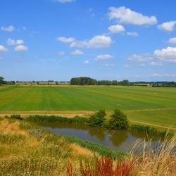 Vanaf Fort Hondswijk.