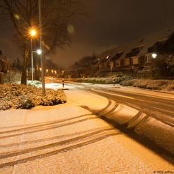 Eerste Nacht foto in de winter 1