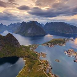 Reine, Lofoten, Noorwegen