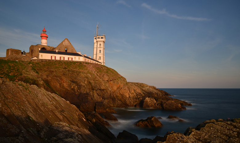 lighthouse - in het late zonlicht genomen