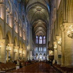 Cathedrale Notre-Dame --- Paris