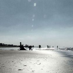A joyful day at the coast