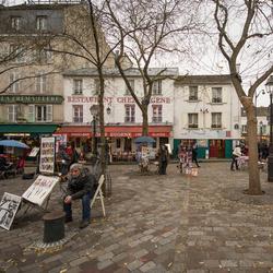Parijs - Montmartre - Place du Terre